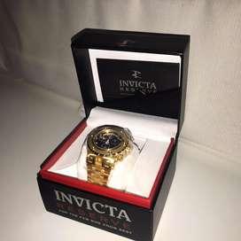 Reloj INVICTA Bañado En Oro (Nuevo)