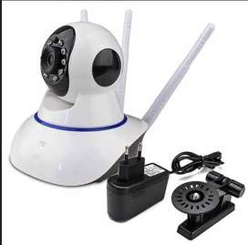 Cámara Robotica Inalambrica Wifi 3 Antenas Nocturna