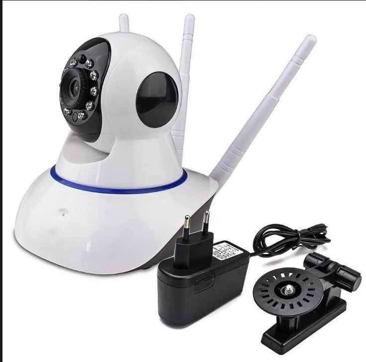 Cámara Robotica Inalambrica Wifi 3 Antenas Nocturna 0