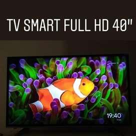 Televisor Smart Full Hd 40 Hdmi Usb Gtia DISPONIBLE hasta el 10-12