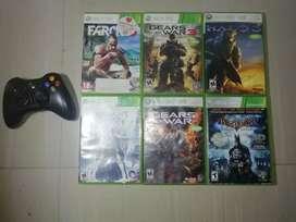 Combo Xbox 360 leer descripción