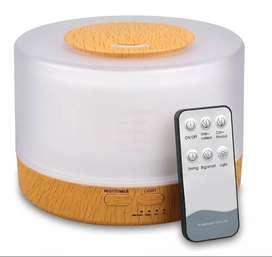 Humidificador Lampara Ultrasonico Difusor Temporizador 500ml