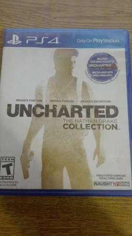 UNCHARTED - THE NATHAN DRAKE COLLECTION, NAUGHTY DOG | PS4