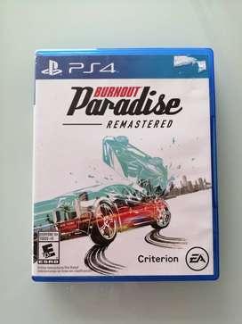 Juego PlayStation BURNOUT PARADISE REMASTERIZADO original.