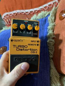 Pedal boss turbo distortion ds1