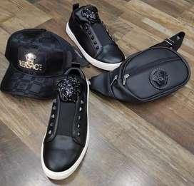 Zapatos Versace medusa  para hombres