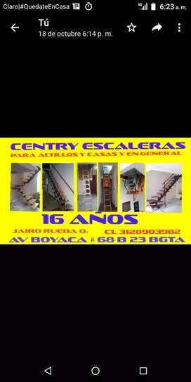 CENTRY ESCALERAS PARA CASAS Y ALTILLOS EN GENERAL