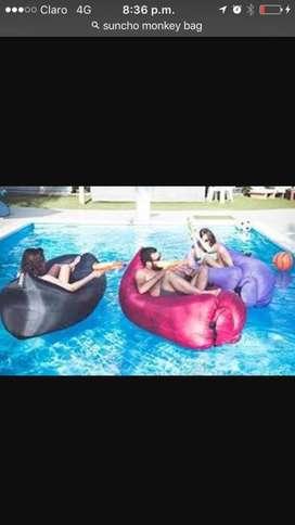 Sofa Inflable para Diferentes Superficies