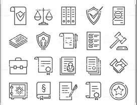 Se hacen documentos legales, asesorías, tutelas.