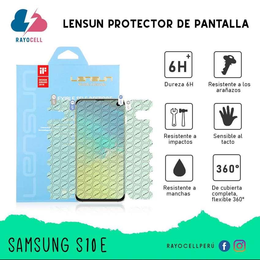 Lensun Protector de Pantalla - 360 grados - Samsung S10E 0