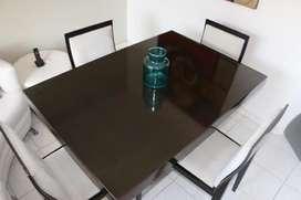 REMATO! Hermoso y elegante juego de comedor, diseño exclusivo...
