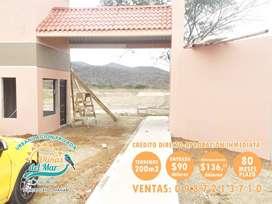 TERRENOS EN LA RUTA DEL SPONDYLUS, LOTES DE 170M2 CON ENTRADA DE 90 USD Y CUOTAS DE 115 USD, PUERTO CAYO MANABI, SD1
