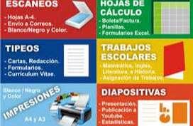 TIPEOS - DIGITALIZACIONES E IMPRESIONES B/C