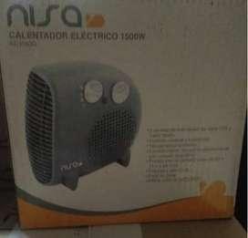 Calentador Eléctrico 1500W