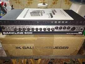 Cabezal para bajo Gallien Krueger Backline 600 Impecable