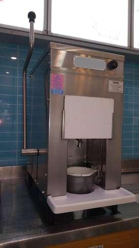 Maquina Mix mezcladora yogurt para helado en acero inoxidable
