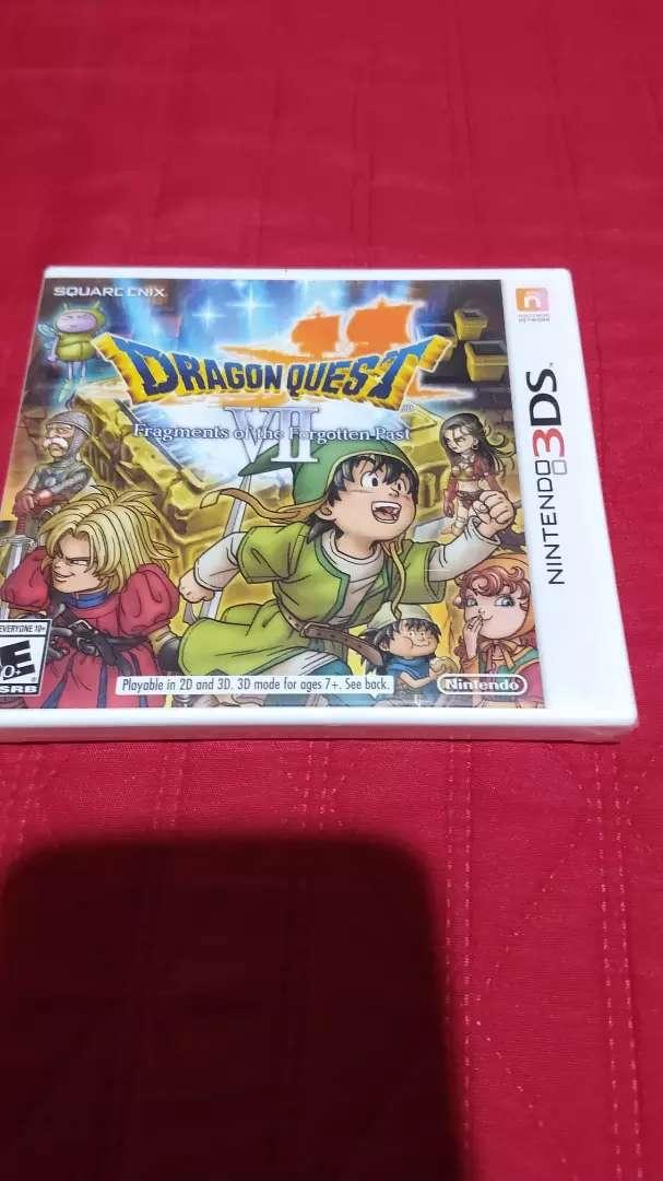 Dragon quest  juego de nintendo 3ds 0