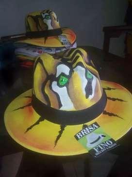 Hermosos sombreros artesanales