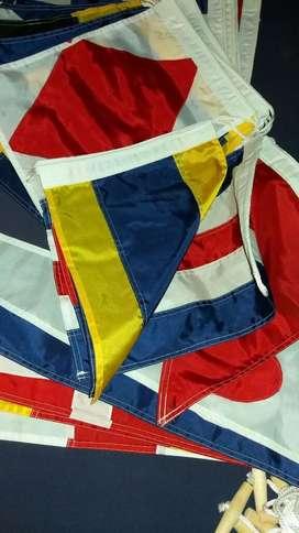 Banderas Barco Señalizacion Nautica Mar