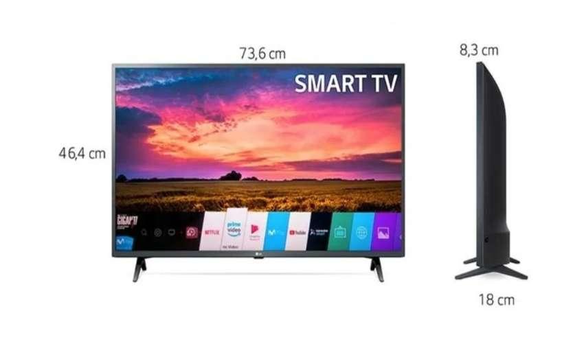 Tv LG 32 Bluetooth 80 Cm 32lm630bpdb Led Hd Plano Smart Tv