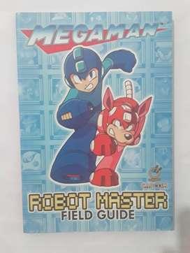 """Libro """"Mega Man Robot Master Field Guide"""""""