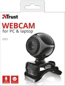 Camara Web Trust Exis Negro