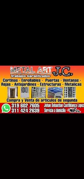 Metal art  J. C