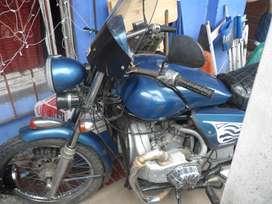 vendo moto con motor de citroen