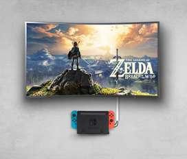 Base Pared para Dock de Nintendo Switch