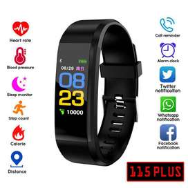 Smart Band 115 Notificaciones Ritmo Cardiaco Presión Fitness