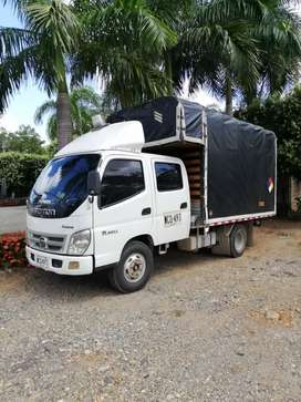 Foton camión doble cabina