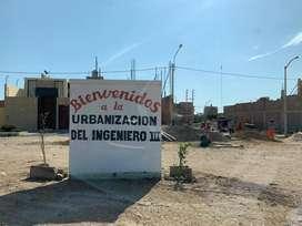 TERRENO EN VENTA - URB INGENIERO III - CHICLAYO