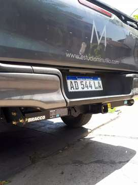 Enganche bracco para trailer Toyota Hilux