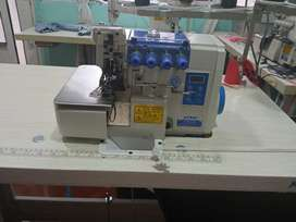 Máquina fileteadora 5 hilos marca JONTEX