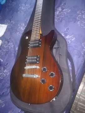 Guitarra marshall con amplificador negociable
