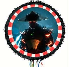 piñata decorativa  raiden