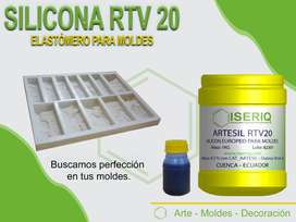 SILICONA RTV - CAUCHO PARA MOLDES