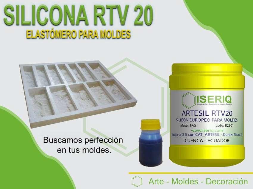 SILICONA RTV I23 - CAUCHO PARA MOLDES
