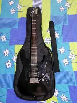 Guitarra eléctrica - amplificador