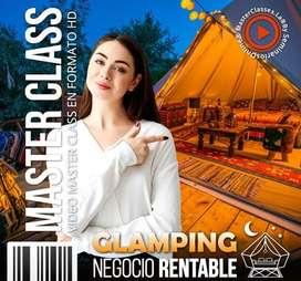 GLAMPING NEGOCIO RENTABLE MasterClass