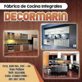 Fabrica de cocinas integrales closet decormarin