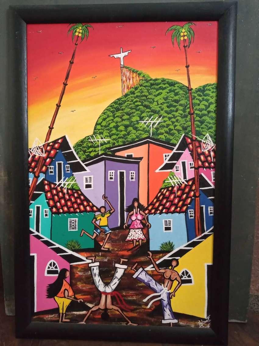 Cuadro favela brasilera 0
