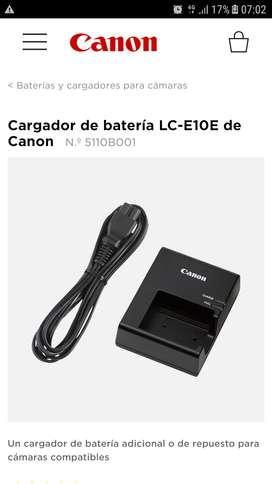 Cargador canon LC E10E original
