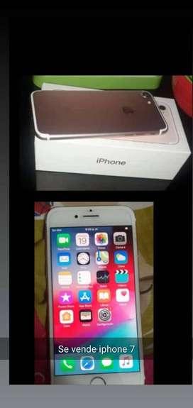 Se vende iphone 7 10 de 10