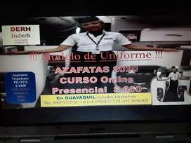 CURSOS AZAFATAS CON MODELO DE UNIFORME