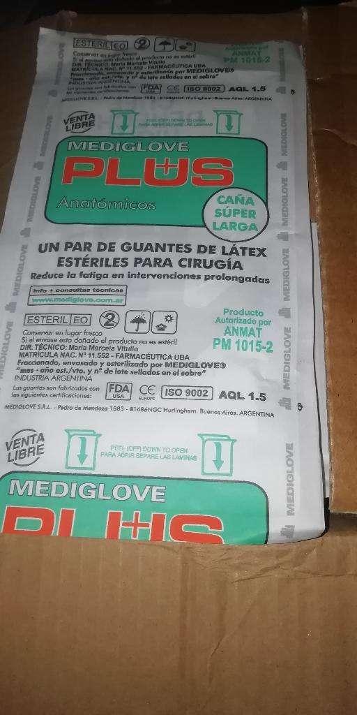 Guantes Látex X 100Pares 0