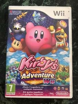 Kirbys Adventure Nintendo Wii / Wiiu snes nes atari sega n64 xbox neogeo gameboy psp vita