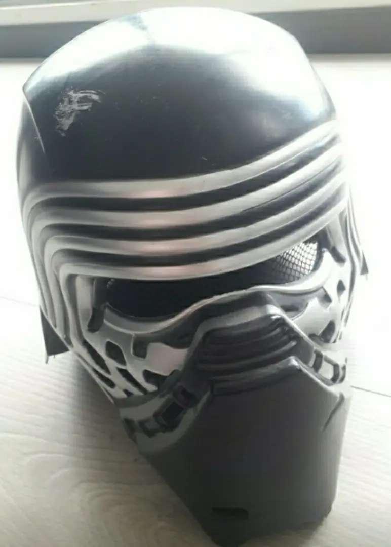 Mascara Star War Kilo Ren con sable y nave de retorno jedi