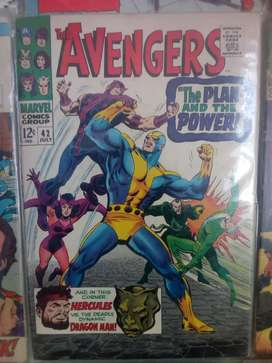 Raro Marvel Comics 1967 Issue 42 The Avengers English