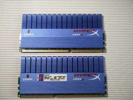 Memoria Kingston HyperX Super disipada DDR3 a 1600 MHz